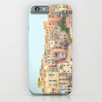 iPhone & iPod Case featuring Colorful Houses by happeemonkee