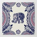 Elephant Pink Canvas Print