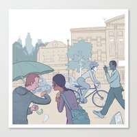 Street Time Canvas Print