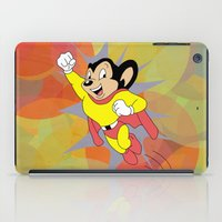 Mighty Mouse - Circles iPad Case