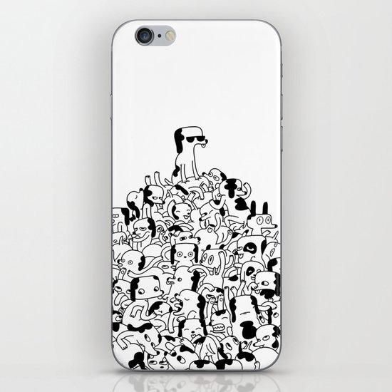Pupper Pile iPhone & iPod Skin