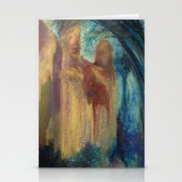 Abstract Landscape IV Stationery Cards