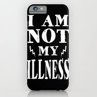 I Am Not My Illness - Print iPhone 6 Slim Case