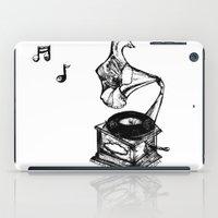 Amaryllis Gramophone iPad Case
