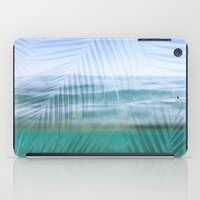 Palms over water  iPad Case