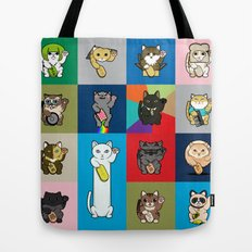 Lucky Cats - LOLcats Tote Bag