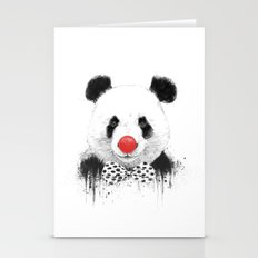 Clown Panda Stationery Cards