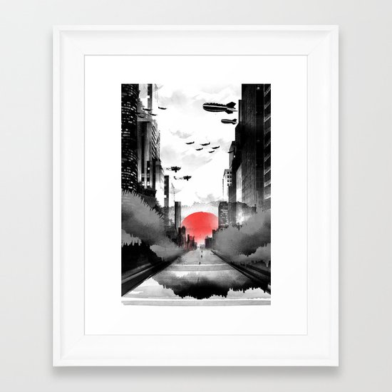 Still Rising Framed Art Print