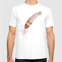 Nothing Last Forever Mens Fitted Tee White SMALL