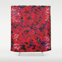 Dissemination / Pattern … Shower Curtain