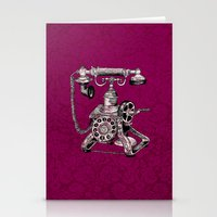 Phone It In.. Stationery Cards