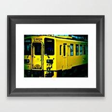 J Train Framed Art Print