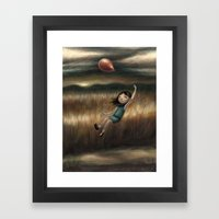 Anywhere But Here Framed Art Print