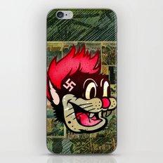 Nazi Bear Cat iPhone & iPod Skin