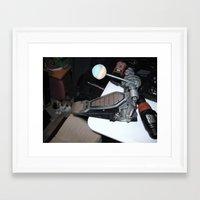 One Man's Trash, Part I Framed Art Print