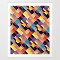 Geometri I Art Print