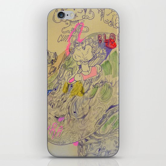 great idea kira iPhone & iPod Skin