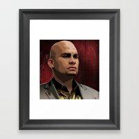 Breaking Bad Illustrated… Framed Art Print