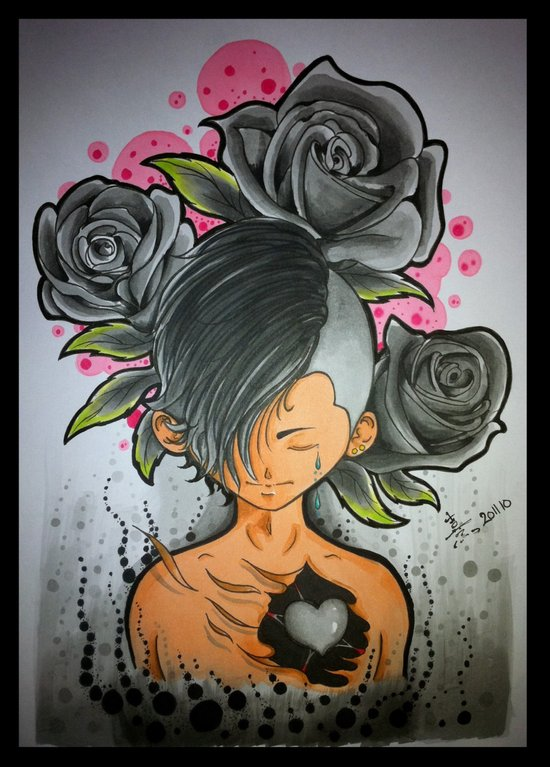 "My mood at this moment "" {Gray} by Reeve Wong Art Print"