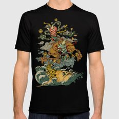 Oni Mens Fitted Tee Black SMALL
