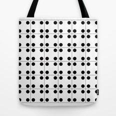 Domino pattern Tote Bag