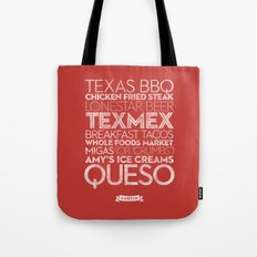 Austin — Delicious City Prints Tote Bag
