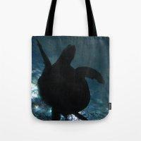 Deep Turtle Tote Bag