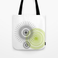 Modern Spiro Art #3 Tote Bag