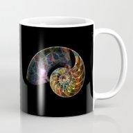 Fossilized Nautilus Shel… Mug