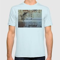 DRESSED LANDSCAPE VI Mens Fitted Tee Light Blue SMALL