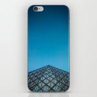 Paris, la pyramide du Louvre, Top iPhone & iPod Skin