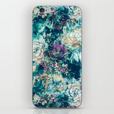 Frozen Flowers iPhone & iPod Skin