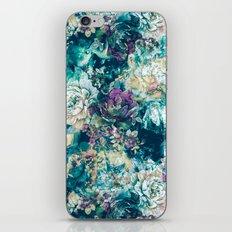 Frozen Flowers iPhone & iPod Skin