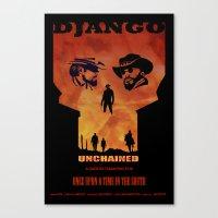 Django Unchained Alterna… Canvas Print