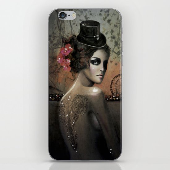 Dawn in Autumn iPhone & iPod Skin