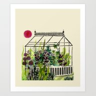 DREAM GREENHOUSE Art Print