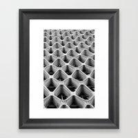 American Cement Building… Framed Art Print
