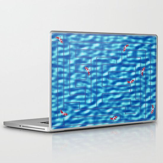Fish in a maze Laptop & iPad Skin