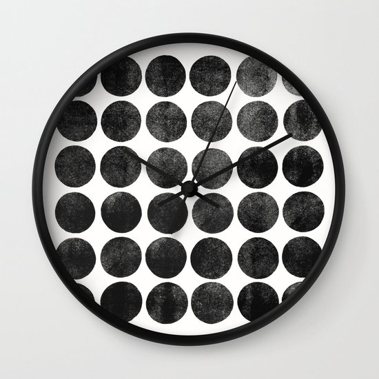 Colorplay Black Wall Clock