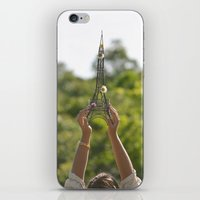 The World On My Shoulder… iPhone & iPod Skin