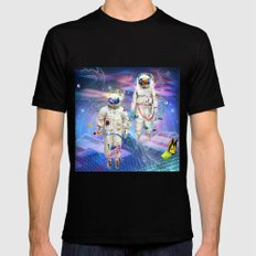 Final Frontier Mens Fitted Tee Black SMALL
