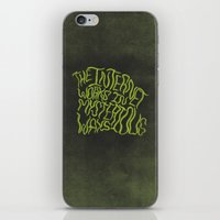 MYSTERIOUS INTERNET iPhone & iPod Skin