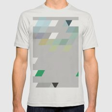 Develop Mens Fitted Tee Silver SMALL