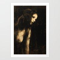 The devil in me Art Print