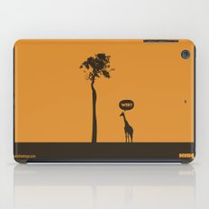 WTF? Jirafa! iPad Case