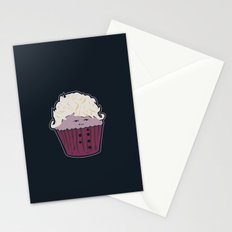 Baroque Cupcake Stationery Cards