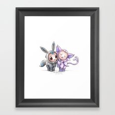 A Psychic Adoration Framed Art Print