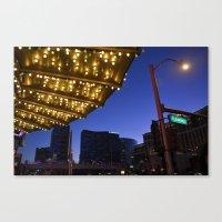 Casino Lights Canvas Print