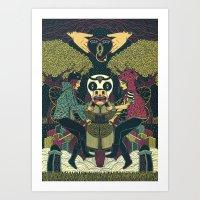 Overlove Overdose Art Print