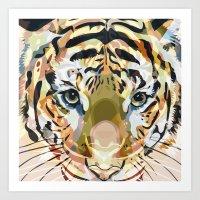 Tiger Mix #1 Art Print
